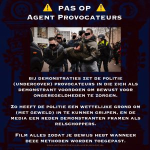 Pas op: Agent Provocateurs